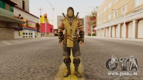 Scorpion [MKX] pour GTA San Andreas deuxième écran