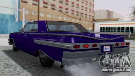 GTA 5 Declasse Voodoo IVF pour GTA San Andreas laissé vue