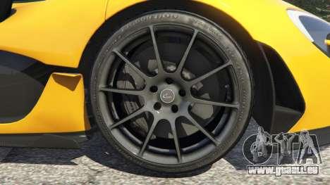 GTA 5 McLaren P1 2014 hinten rechts