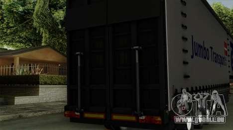 Trailer Krone Profiliner v4 für GTA San Andreas rechten Ansicht