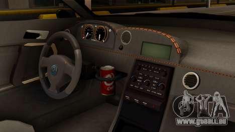 GTA 5 Annis Elegy RH8 SA Style pour GTA San Andreas vue de droite