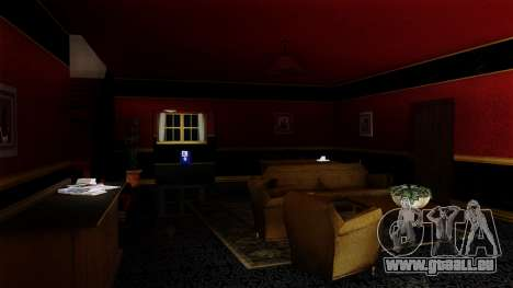 Retextured CJ ' s Haus in Scarface Stil für GTA San Andreas zweiten Screenshot