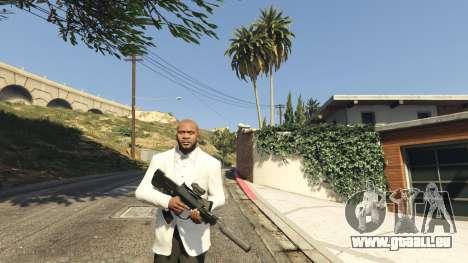 GTA 5 Battlefield 4 Famas deuxième capture d'écran