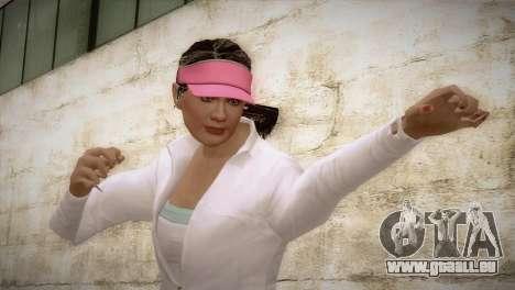 GTA 5 Amanda De Santa Tennis Skin für GTA San Andreas