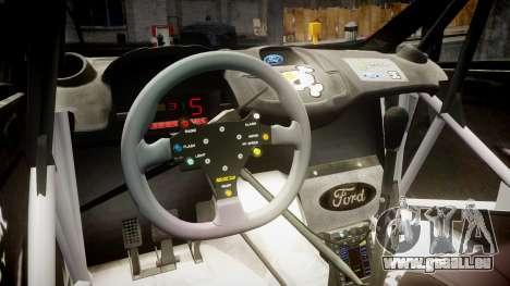 Ford Fiesta RS Ken Block 2015 für GTA 4 Rückansicht