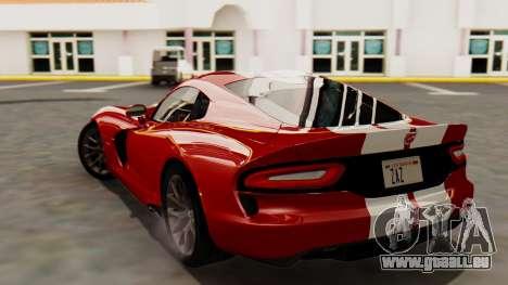 Dodge Viper SRT GTS 2013 HQLM (MQ PJ) für GTA San Andreas linke Ansicht