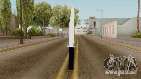 Original HD Knife pour GTA San Andreas