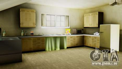 Le nouvel intérieur de la maison de CJ pour GTA San Andreas septième écran