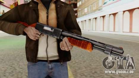 Xshotgun fusil à Pompe pour GTA San Andreas troisième écran