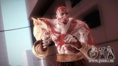 God Of War 3 Kratos Blood für GTA San Andreas