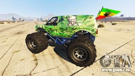 Vapid The Liberator Cannabis pour GTA 5