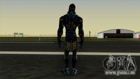 Ant-Man Orange Jacket für GTA San Andreas dritten Screenshot