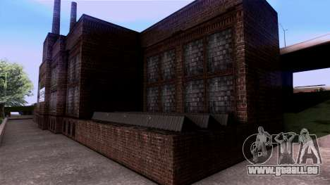 HQ Textures San Fierro Solarin Industries für GTA San Andreas fünften Screenshot