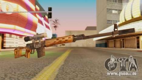 SVD SA Style pour GTA San Andreas