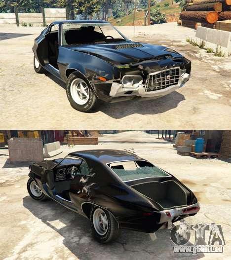 GTA 5 Ford Gran Torino Sport 1972 [Beta] vorne rechts Seitenansicht