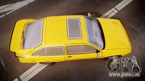 Ford Sierra RS500 Cosworth v2.0 pour GTA 4 est un droit