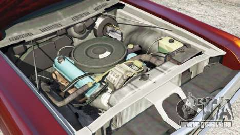 GTA 5 Dodge Polara 1971 droite vue latérale
