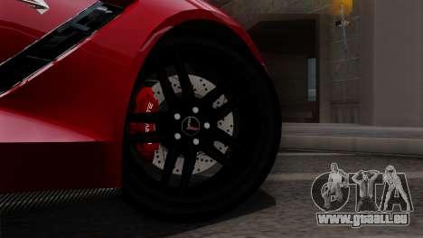 Chevrolet Corvette C7 Stingray 1.0.1 pour GTA San Andreas vue de droite