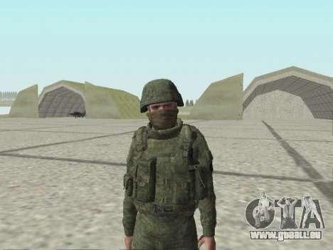 Pak-Kämpfer von speziellen Truppen von GRU für GTA San Andreas zehnten Screenshot