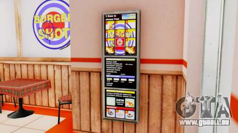 Real fast-food für GTA San Andreas her Screenshot