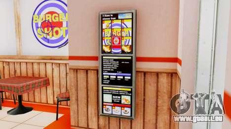 Real fast-food für GTA San Andreas her Screenshot