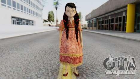 Cereza Bayonetta (child) für GTA San Andreas zweiten Screenshot