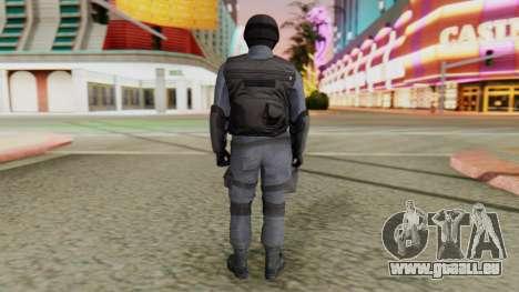 [GTA 5] SWAT pour GTA San Andreas troisième écran