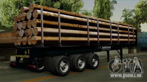 Trailer Log v2 für GTA San Andreas linke Ansicht