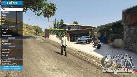 GTA 5 QF Mod Menu 0.3 vierten Screenshot