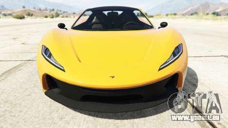 Progen T20 McLaren P1 für GTA 5