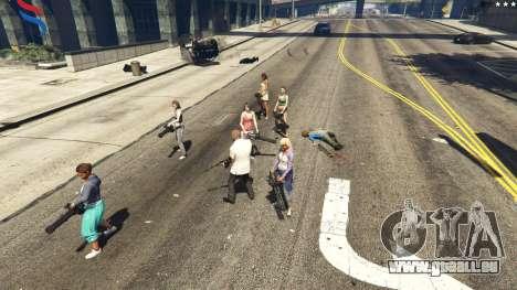 GTA 5 Bodyguard Menu 1.7 septième capture d'écran