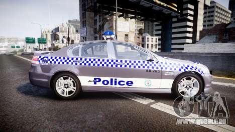 Holden VE Commodore SS Highway Patrol [ELS] für GTA 4 linke Ansicht