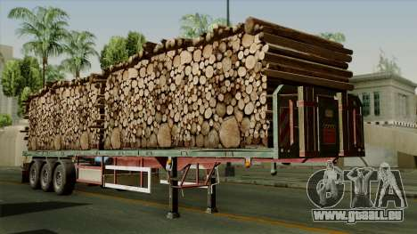 Trailer Cargos ETS2 New v2 für GTA San Andreas