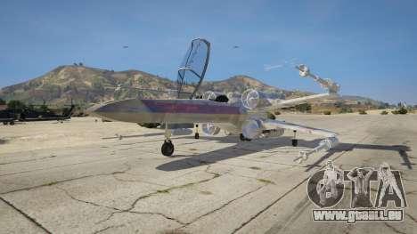 GTA 5 Xwing-Hydra Hybrid dritten Screenshot