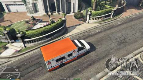 La Mission de l'ambulance v. 1.3 pour GTA 5