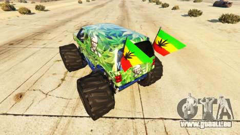 Vapid The Liberator Cannabis pour GTA 5