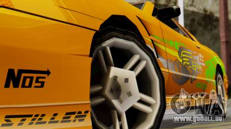 Elegy Supra PJ pour GTA San Andreas vue de droite