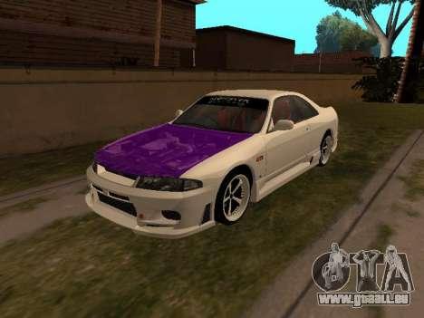 Nissan Skyline R33 Drift Monster Energy JDM für GTA San Andreas