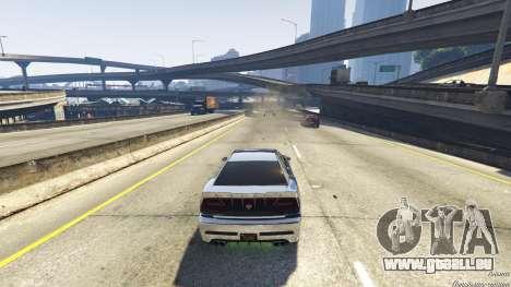 GTA 5 Piège mortel sur l'autoroute sixième capture d'écran