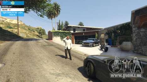 GTA 5 QF Mod Menu 0.3 cinquième capture d'écran