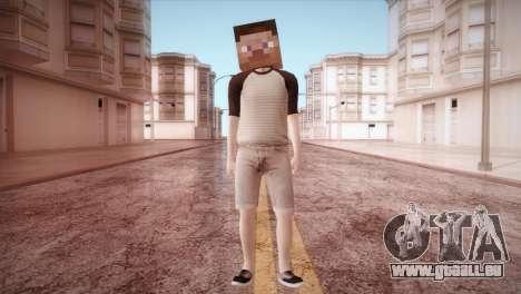 Minecraft Boy für GTA San Andreas zweiten Screenshot
