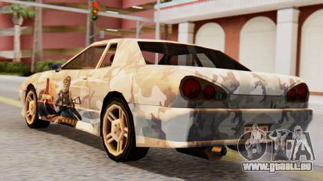 Elegy Contract Wars Vinyl für GTA San Andreas linke Ansicht