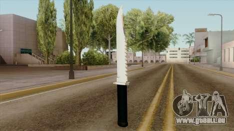 Original HD Knife pour GTA San Andreas deuxième écran
