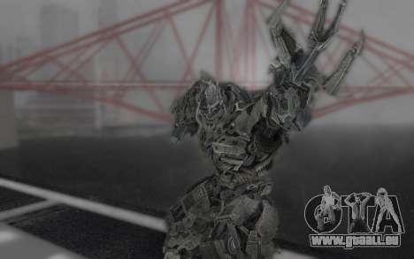 Megatron TF3 pour GTA San Andreas