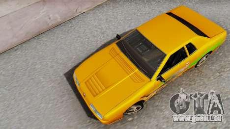 Elegy Supra PJ pour GTA San Andreas vue arrière