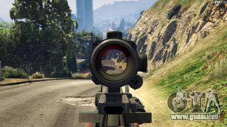 Battlefield 4 Famas für GTA 5
