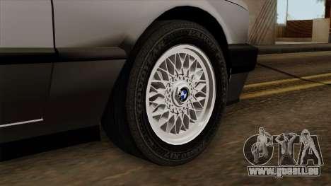 BMW 325i pour GTA San Andreas sur la vue arrière gauche
