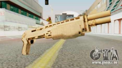 SPAS 12 SA Style pour GTA San Andreas