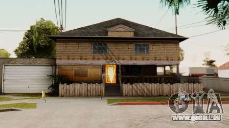 New Interior for CJs House pour GTA San Andreas troisième écran