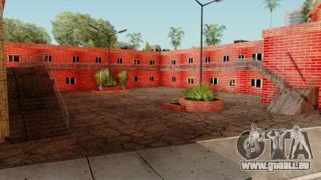 Motel Jefferson für GTA San Andreas dritten Screenshot